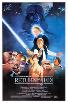 Star Wars Return of the Jedi - movie poster