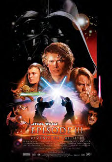 Star Wars: Episode III – Revenge of the Sith - movie poster